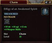 Effigy of an Awakened Spirit