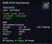 Staff of the Geomancer