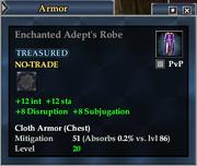 Enchanted Adept's Robe