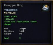 Honeygem Ring