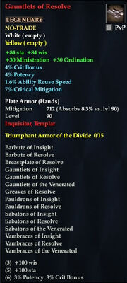 Gauntlets of Resolve