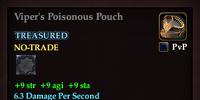 Viper's Poisonous Pouch