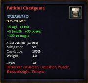 Faithful Chestguard