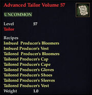 Advanced Tailor Volume 57