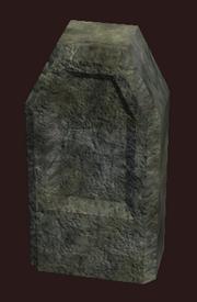 Harrowing Gravestone (Visible)