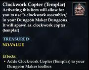 Clockwork Copter (Templar)