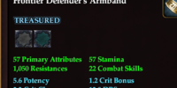 Frontier Defender's Armband