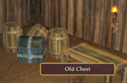 Old Chest in Orc Sawmill
