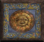 Painting of the Sun God (Visible)