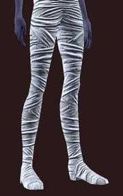 Moldering Mummy Leg Wraps (Equipped)