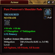 Pure Preserver's Shoulder Pads