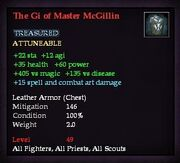 The Gi of Master McGillin