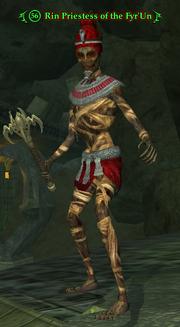 Rin Priestess of the Fyr'Un