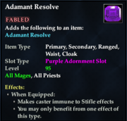 Adamant Resolve (Purple)
