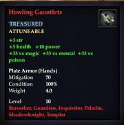 Howling Gauntlets