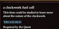 A clockwork fuel cell