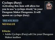 Cyclops (Fury)