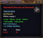 Moonfield Bracelet of Elements