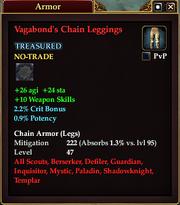Vagabond's Chain Leggings