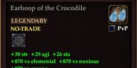 Earhoop of the Crocodile