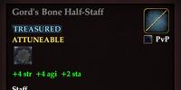 Gord's Bone Half-Staff