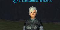 A Blackshield assassin (Commonlands)