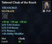 Tattered Cloak of the Reach