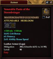 Venerable Pants of the Stormbringer