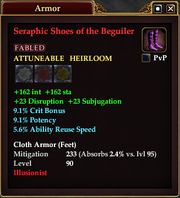 Seraphic Shoes of the Beguiler