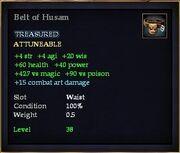 Belt of Husam