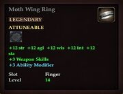 Moth Wing Ring