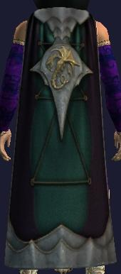 Cloak of Shimmering Faith (Equipped)