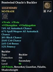 Frostwind Oracle's Buckler