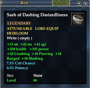 Sash of Dashing Dastardliness