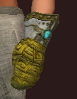 Vesspyr Scout's Steel Gauntlets (Equipped)