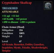 Cryptshadow Skullcap