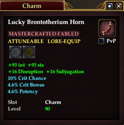 Lucky Brontotherium Horn