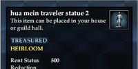 Hua mein traveler statue 2
