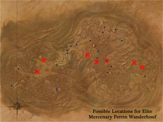 Perrin Wanderhoof Locations