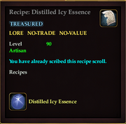 EQ2RecipeDistilledIcyEssence