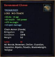 Envenomed Gloves
