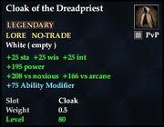Cloak of the Dreadpriest