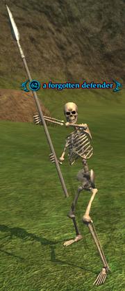 A forgotten defender
