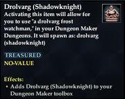 Drolvarg (Shadowknight)