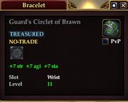 Guard's Circlet of Brawn
