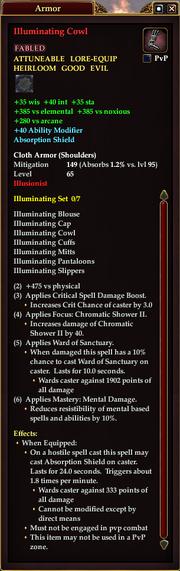 Illuminating Cowl