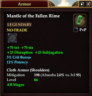 Mantle of the Fallen Rime