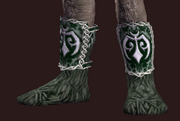 Martial Reptile Hide Boots (Equipped)