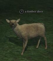 Timber deer