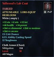Yallessul's Lab Coat
